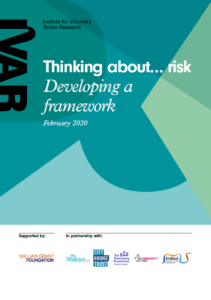 Thinking about risk front cover image