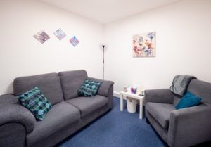 A therapy room at RASASC North Wales.