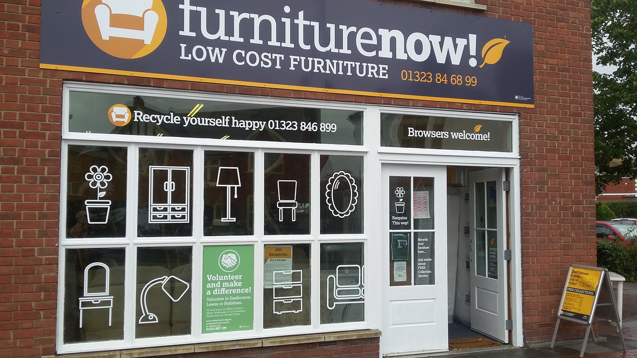 Furniture Now shop front