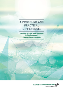 Image of the front cover of the Profound and Practical difference publication