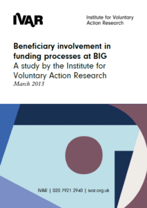 Front cover image for Beneficiary involvement in funding