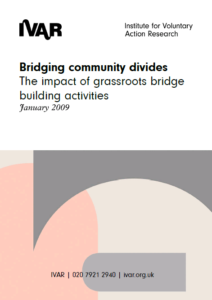 Front cover image of Bridging Community Divides