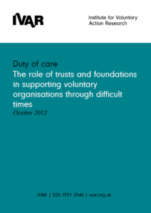 Front cover image for Duty of Care