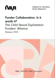 Front cover image of Funder Collaboration