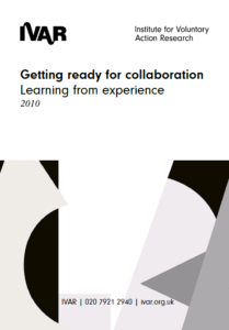 Front cover image of getting ready for collaboration