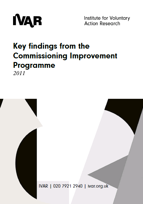 Key findings from the Commissioning Improvement Programme