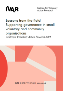 Lessons from the field front cover image