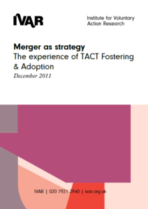 Front cover image of merger as strategy