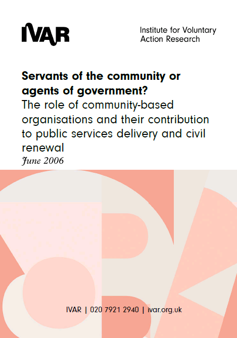 Servants of the community or agents of government?