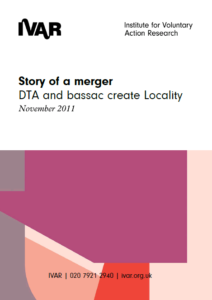 Front cover image Story of a Merger