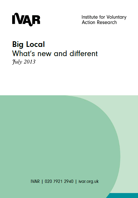 Big Local: What's new and different?