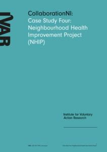 Front cover image for case study four NHIP