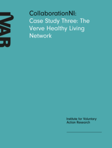 Front cover image case study three the verve healthy living network