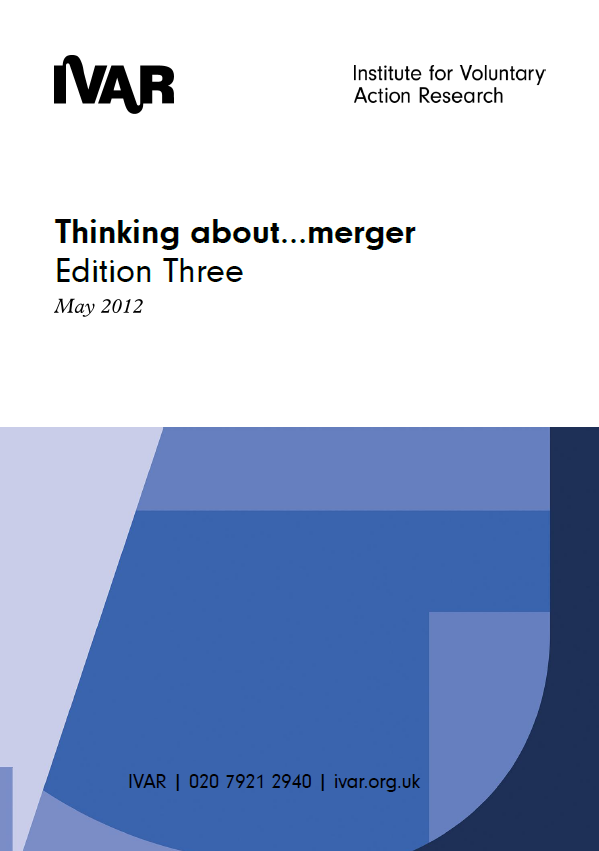 Front cover image of Thinking about merger