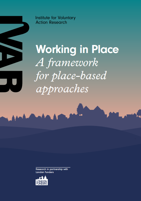 Front cover image for Working in Place