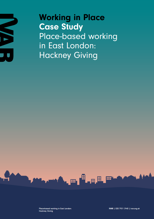 Case study: Working in Place: Hackney Giving