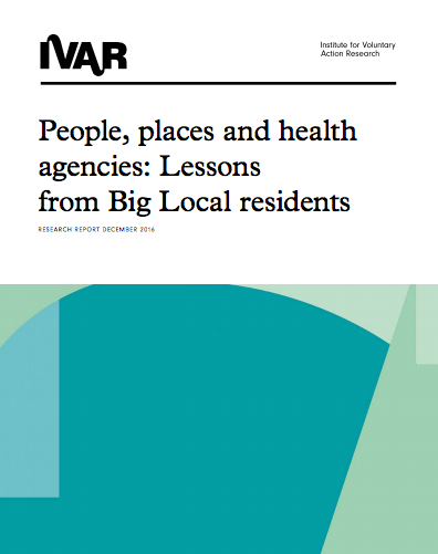 People, places and health agencies: Lessons from Big Local residents