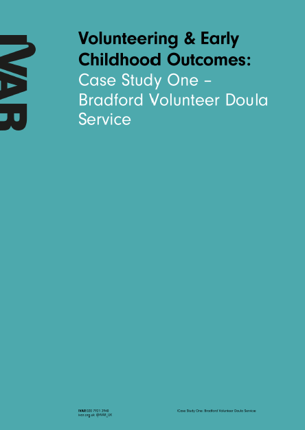 Case Study One: Bradford Volunteer Doula Service