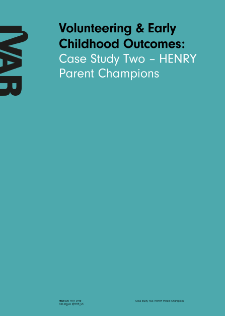 Case Study Two: HENRY Parent Champions