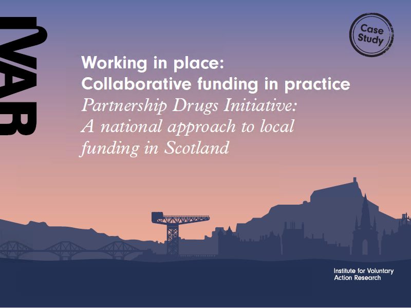 Partnership Drugs Initiative: A national approach to local funding in Scotland