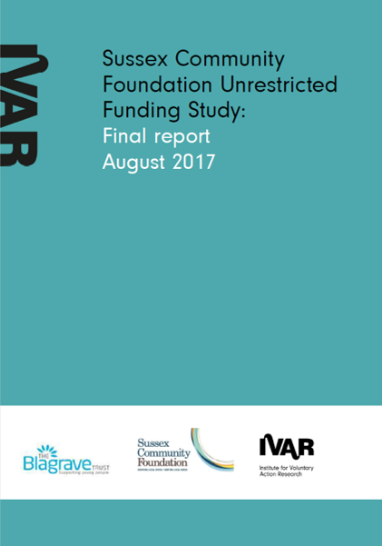 Sussex Community Foundation Unrestricted Funding Study