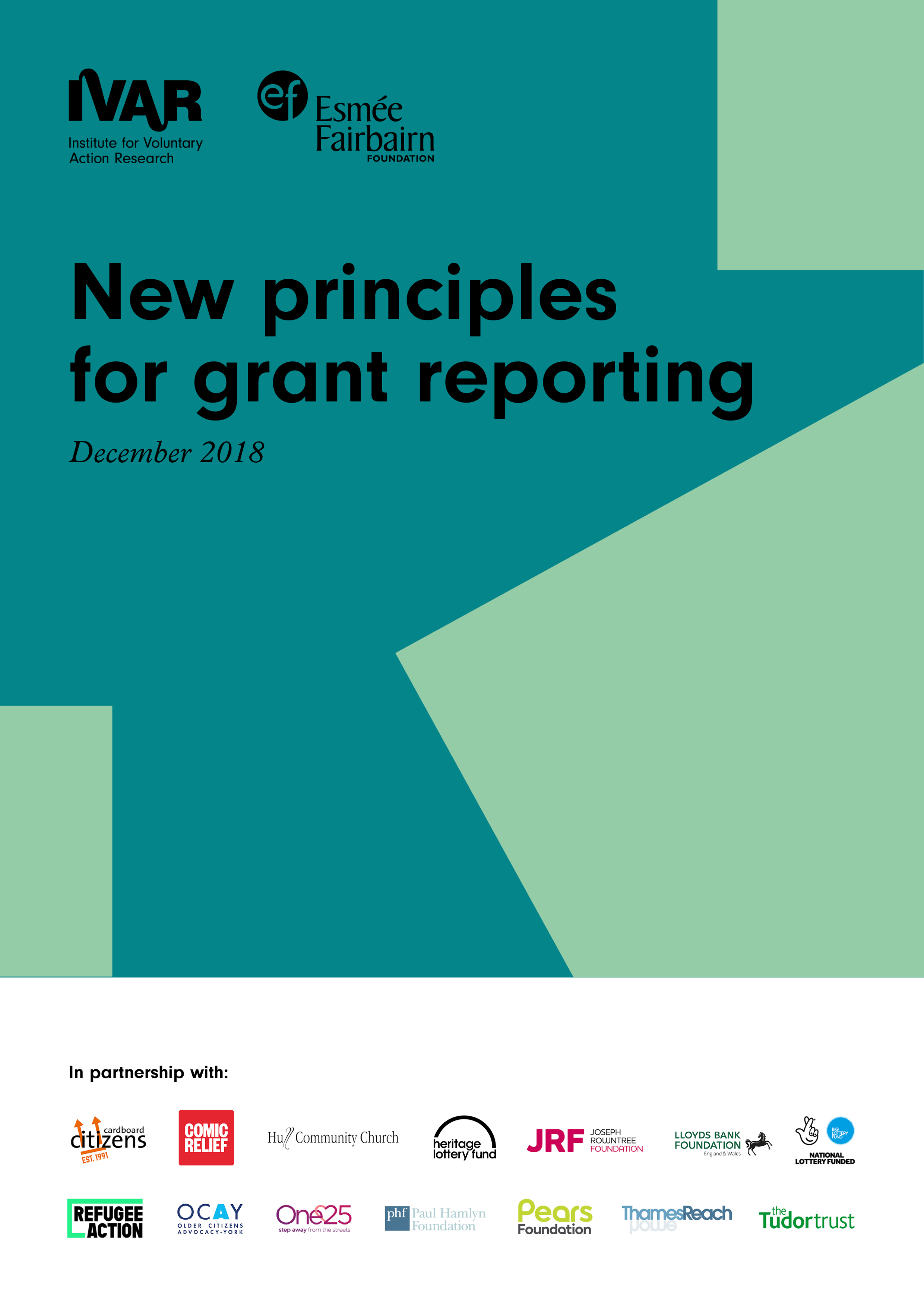 Exploring opportunities to align grant reporting