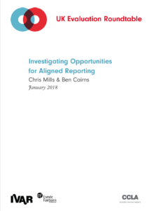Investigating Opportunities for Aligned Reporting