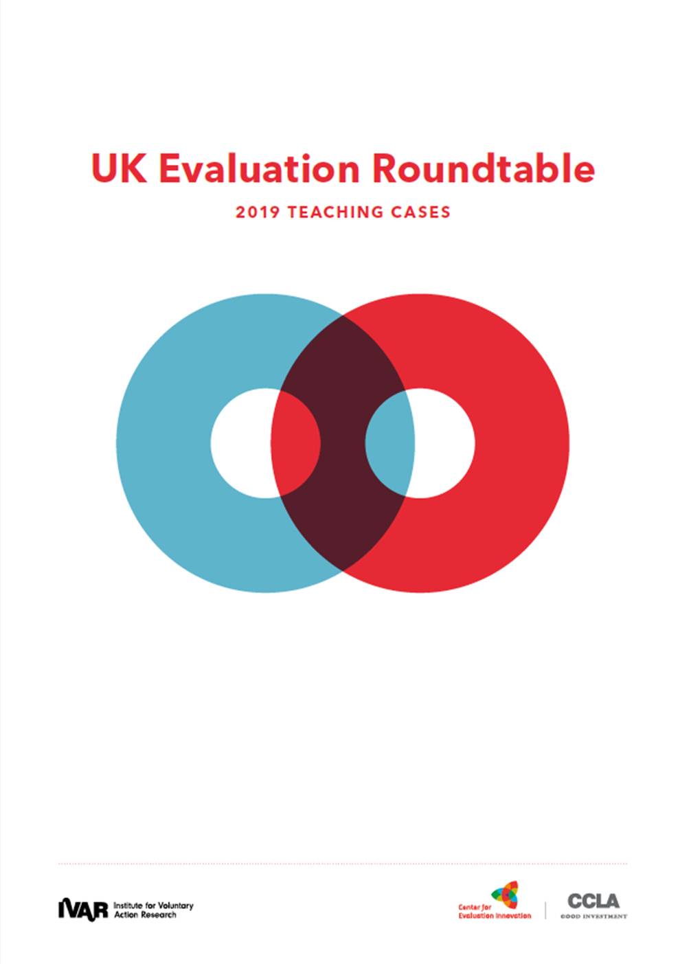 UK Evaluation Roundtable Teaching Cases 2019