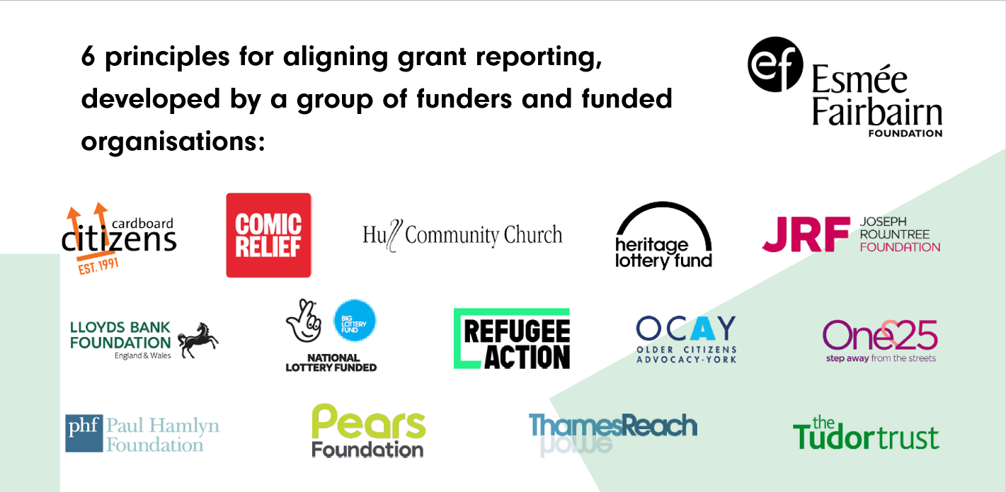 What are the best & worst things about grant reporting? Have your say!