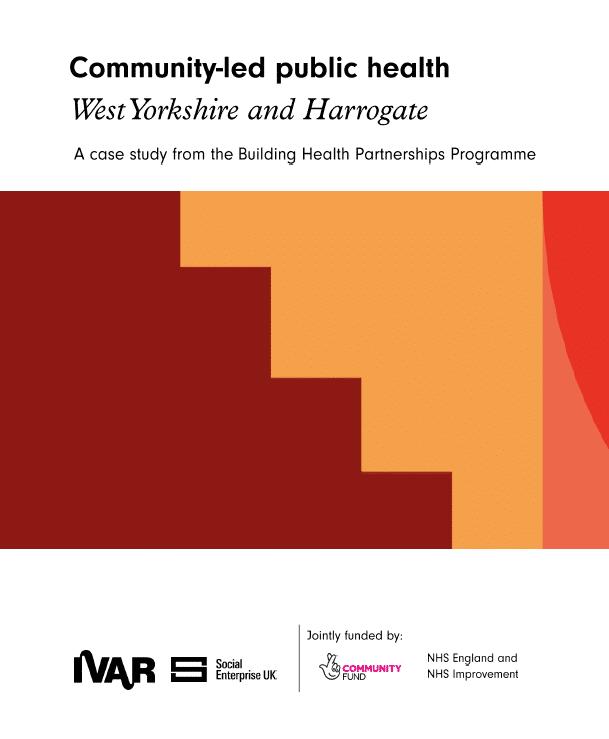 West Yorkshire & Harrogate: Community-led public health