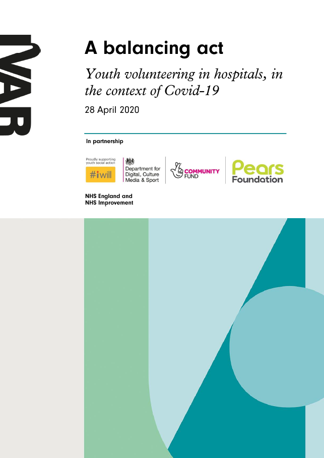 A balancing act: Youth volunteering in hospitals, in the context of Covid-19