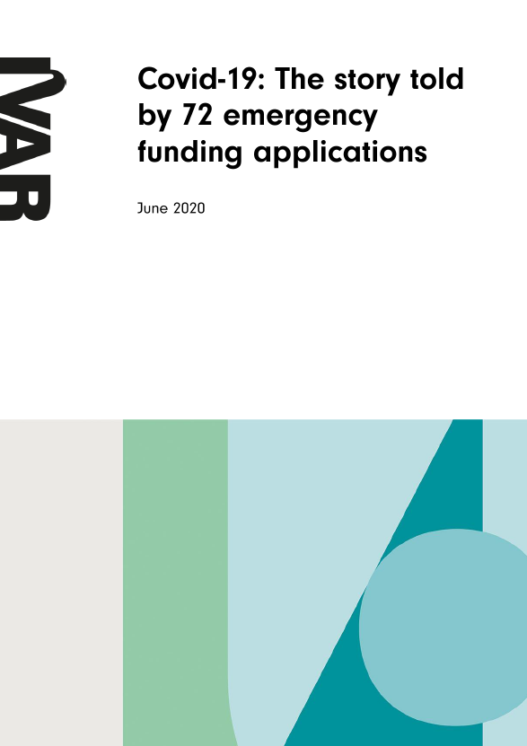 Front cover The story told by 72 funding applications
