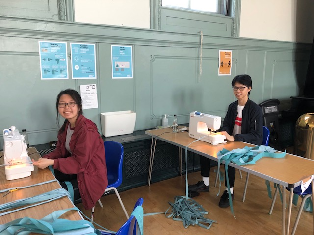 Hampstead Gown Factory: Creative roles for young volunteers