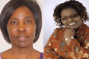 Dr Esther Oenga and Cecily Mwaniki of Utulivu
