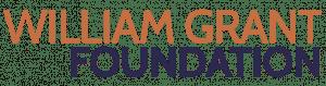 William Grant Foundation logo.