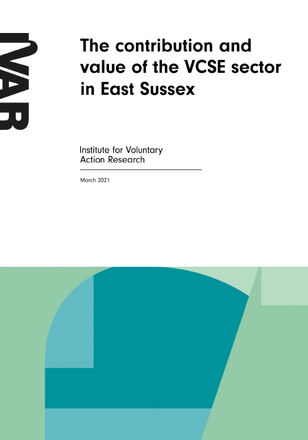 The contribution and value of the VCSE sector in East Sussex
