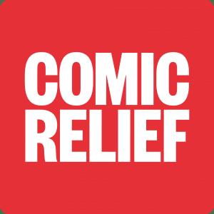Comic Relief logo.