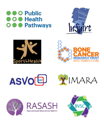 charity logos involved in the applications and assessments research.