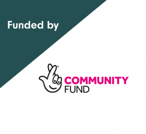 Funded by National Community Lottery Fund.